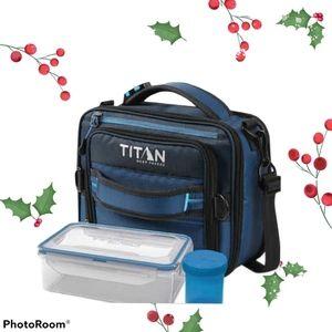 New titan deep freeze expandable lunchbox